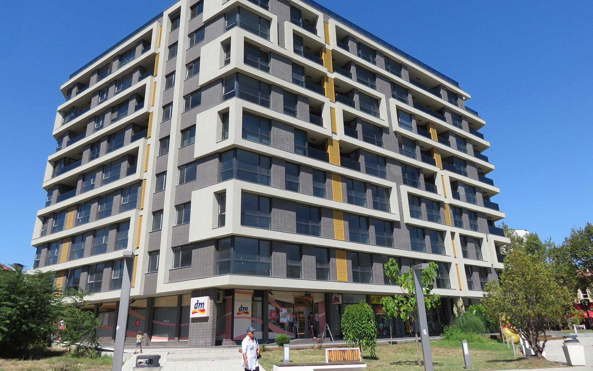 Mixed multifunctional building ULTIMA
