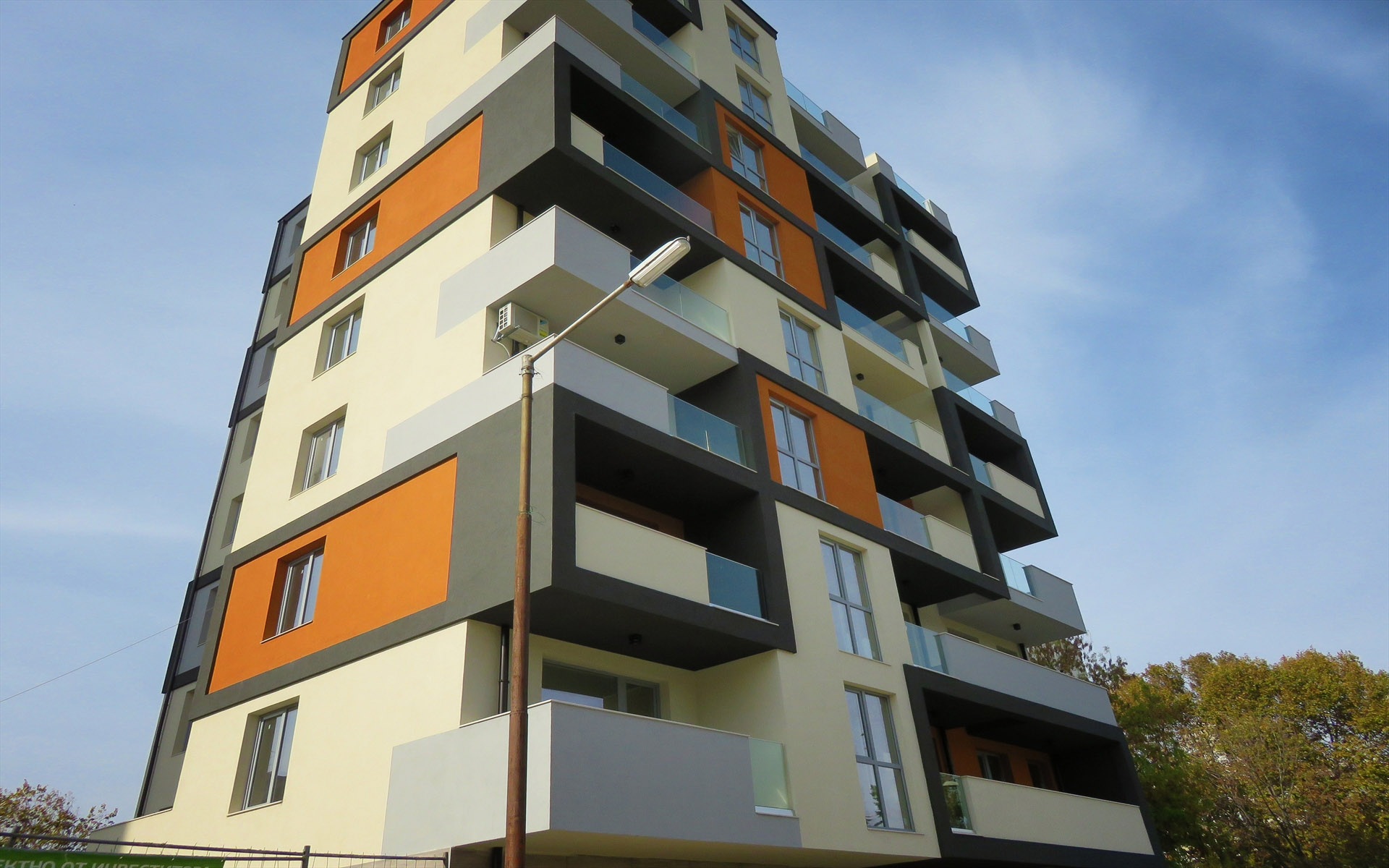 Mixed building, Zornitsa Residential Complex