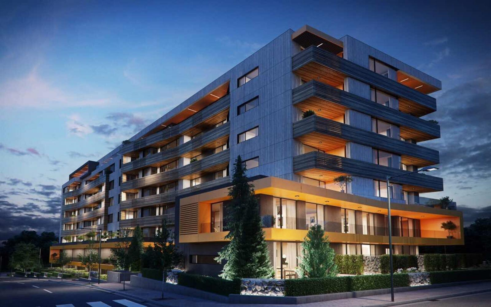 The new project of Unistroy RUHouse is at the foot of Vitosha Mountain